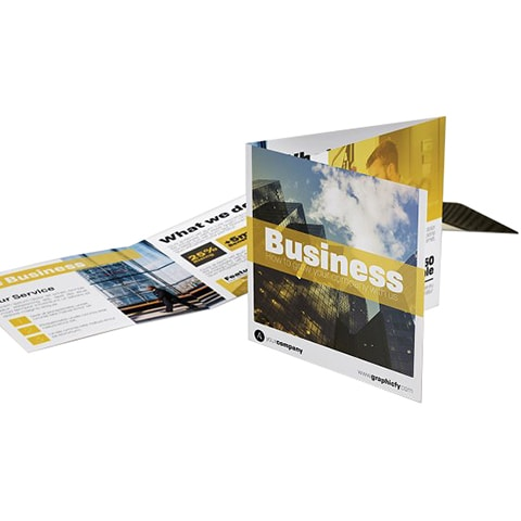 square trifold brochure printing brochure printing singapore