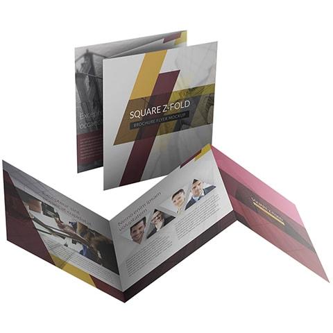 square z fold brochure printing brochure printing singapore